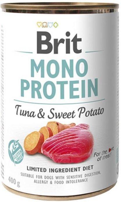 BRIT MONO PROTEIN TUNA & SWEET POTATO 400 g