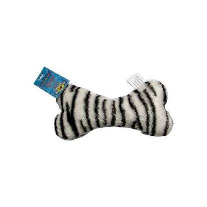 YARRO Zabawka pluszowa dla psa - kość wzór zebra