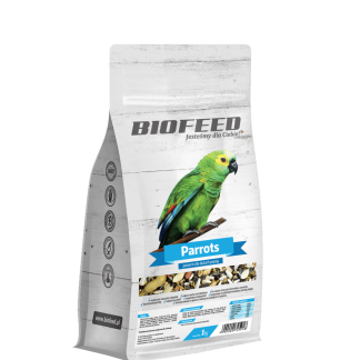BIOFEED Basic Parrots - duże papugi 1kg