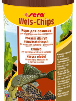 SERA Catfish Chips - saszetka 15 g - pokarm dla bocji i ryb sumokształtnych [SE-00513] 15 g