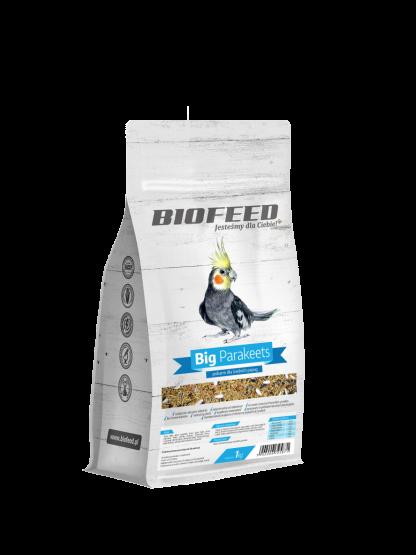 BIOFEED Basic Big Parakeets - papuga średnia 1kg