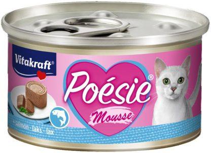 VITAKRAFT POESIE MUS/ ŁOSOŚ 85g karma d/kota