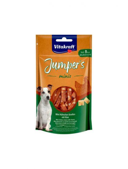 VITAKRAFT JUMPERS MINIS kurczak/ser 80g d/psa