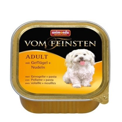 ANIMONDA Vom Feinsten Adult szalki z drobiem i makaronem 150 g