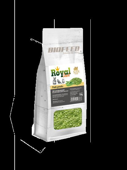BIOFEED Royal Snack SuperFood - płatki groszku 150g