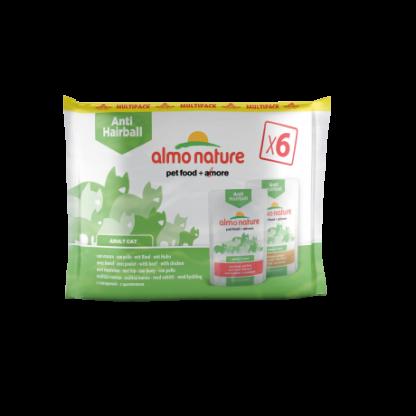 ALMO NATURE FUNCTIONAL Multipack Anti-Hairball (3*wołowiną