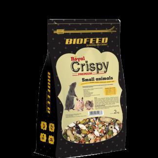 BIOFEED Royal Crispy Premium Small Animals 2kg - dla małych gryzoni