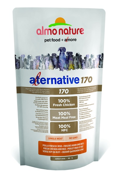 ALMO NATURE ALTERNATIVE 170 XS-S kurczak  750 g