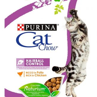 PURINA CAT CHOW SPECIAL CARE Hairball Control Bogata w kurczaka 400g