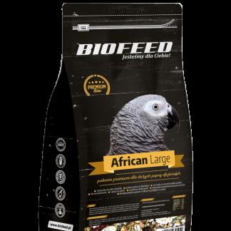 BIOFEED Premium African Large - duże papugi afrykańskie 1kg