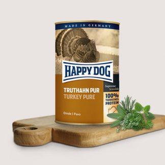 HAPPY DOG PUSZKA dla psa - INDYK (Truthahn Pur) 800g