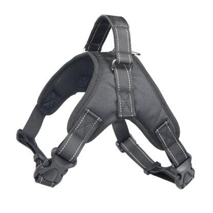 PETLOVE Szelki odblaskowe dla psa XS czarne [SZELODBXSBK]