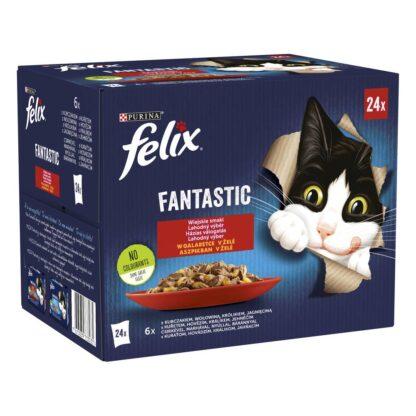 FELIX FANTASTIC 4 Wiejskie smaki (24x85g) PL