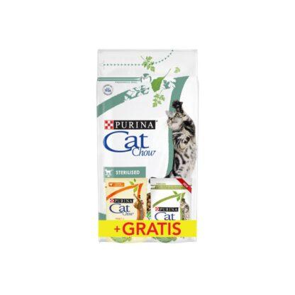 PURINA CAT CHOW SPECIAL CARE Sterilized Bogata w kurczaka 1
