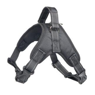 PETLOVE Szelki odblaskowe dla psa S czarne [SZELODBSBK]