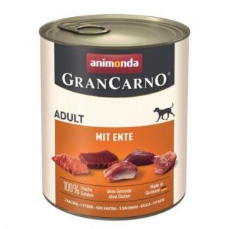 ANIMONDA GranCarno Orginal Adult puszki wieprzowina z kaczką 800 g