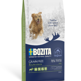 BOZITA Dog Grain Free Adult Plus Elk 12 kg