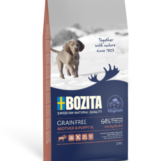 BOZITA Dog Grain Free Mother and Puppy XL Elk 12 kg