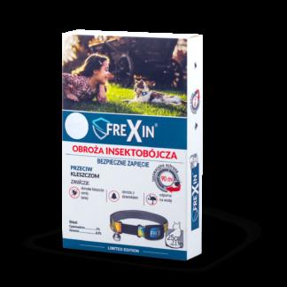 FREXIN Obroża insektobójcza dla kota z dzwonkiem 25cm [23456]