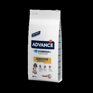 ADVANCE Sensitive Salmon & Rice - sucha karma z łososiem dla psów z wrażliwością pokarmową 12kg [923932]