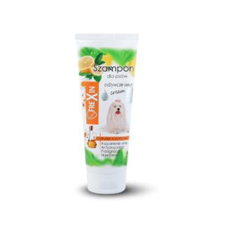 FREXIN Szampon dla psów białej i jasnej sierści - cytryna&rumianek 220g [20974]