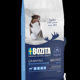 BOZITA Dog Grain Free Adult Plus Reindeer 12