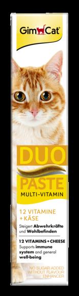 GIMCAT MULTIVITAMIN DUO-PASTE CHEESE + 12 VITAMINS 50g
