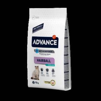 ADVANCE Hairball Sterilized - sucha karma dla kotów sterylizowanych 10kg [921865]