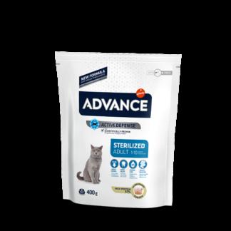 ADVANCE Sterilized Turkey - sucha karma z indykiem dla kotów sterylizowanych 400g [922227]