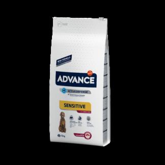 ADVANCE Sensitive Lamb & Rice - sucha karma z jagnięciną dla psów z wrażliwością pokarmową 12kg [923537]