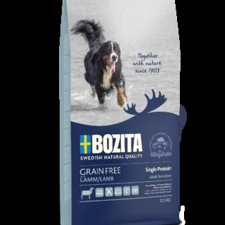 BOZITA Dog Grain Free Adult Sensitive Single Protein Lamb 12