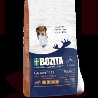 BOZITA Dog Grain Free Mother and Puppy Elk 2 kg