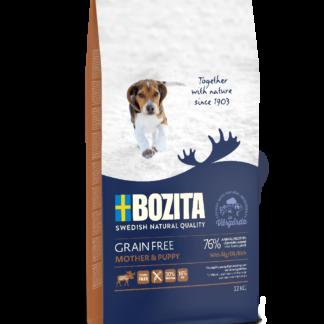 BOZITA Dog Grain Free Mother and Puppy Elk 12 kg