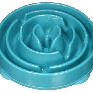 FUN FEEDER Miska plastikowa spowalniająca jedzenie LARGE turkus [51002]