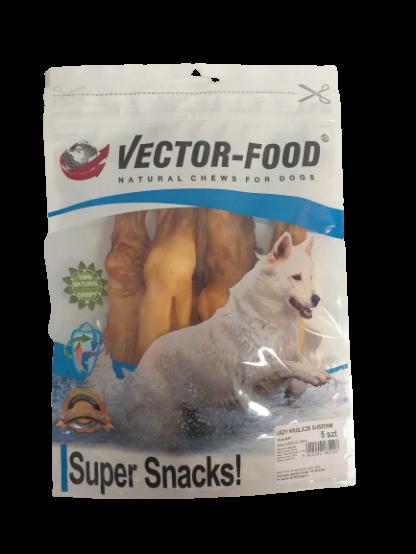 VECTOR-FOOD Uszy królicze suszone [S37] 5szt