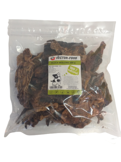VECTOR-FOOD Płuca wołowe [S21] 500g